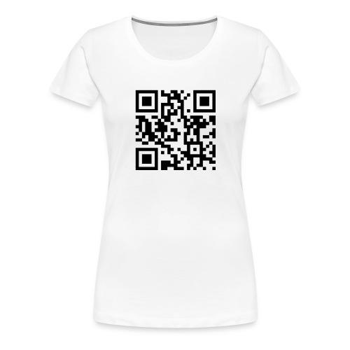 fp qr - Women's Premium T-Shirt