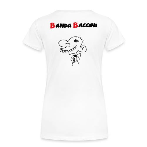 Banda Baccini. - Maglietta Premium da donna