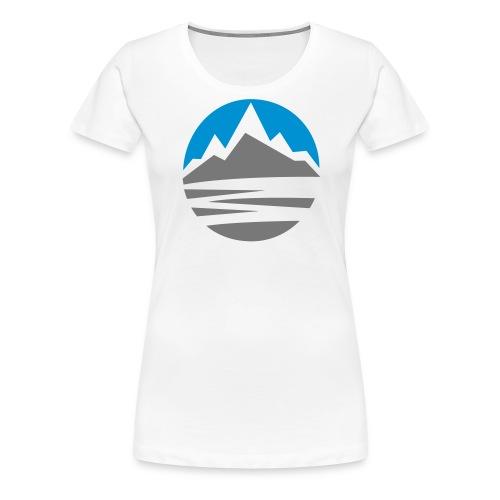 Mountain - Women's Premium T-Shirt