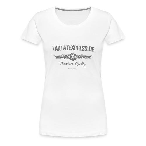 le est 2002 medium grey - Frauen Premium T-Shirt