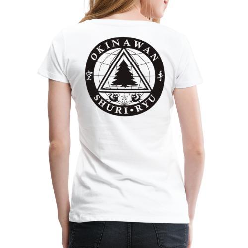 Instruktør mærke Ryg placering - Dame premium T-shirt