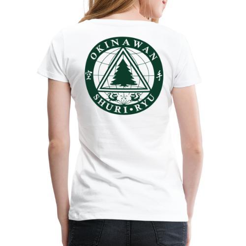 Klubmærke Ryg placering - Dame premium T-shirt