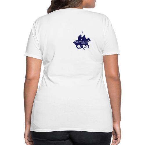 St-Moritz-Motiv 1 - Frauen Premium T-Shirt