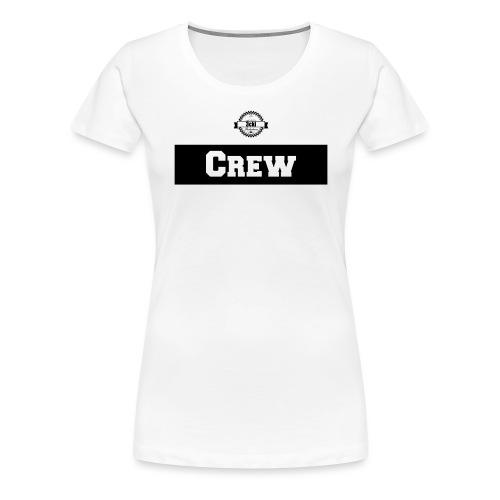 3cki Shirt Vorn Schwarz - Frauen Premium T-Shirt