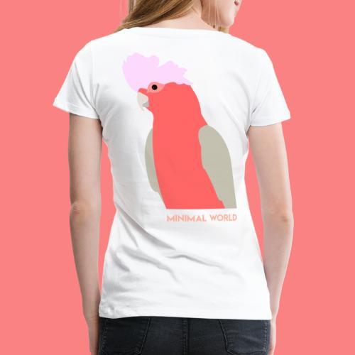 PINK CACATUA - Maglietta Premium da donna