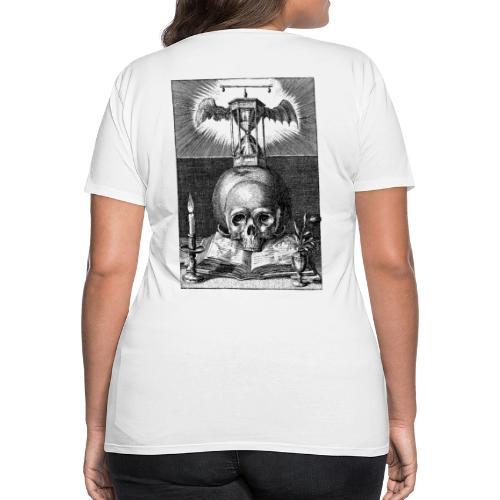 Dizruptive memento mori - Frauen Premium T-Shirt