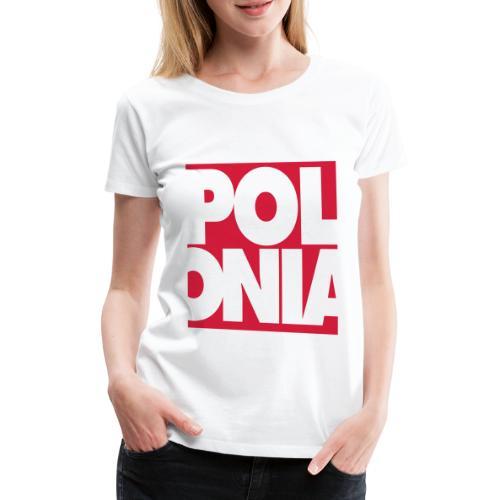 Polonia Schriftzug - Frauen Premium T-Shirt