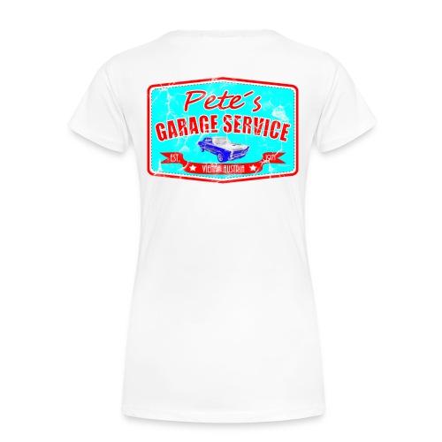 Pete´s Garage - Frauen Premium T-Shirt