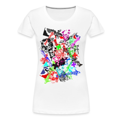 Southside91-Stickerbomb - Frauen Premium T-Shirt