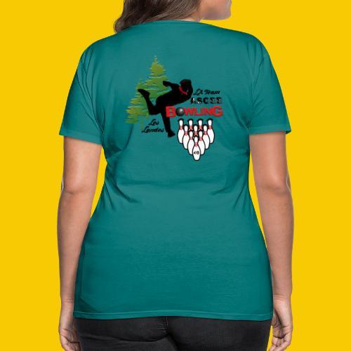 BOWLING ASCEE40 - T-shirt Premium Femme