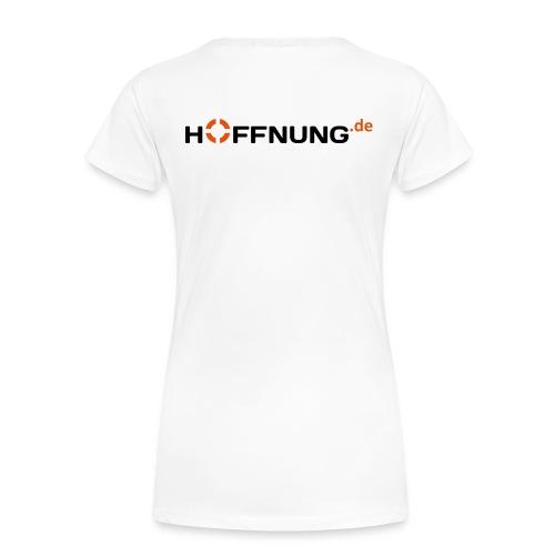 hoffnung_de WortBildMarke - Frauen Premium T-Shirt