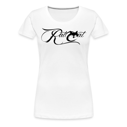 logo gross - Frauen Premium T-Shirt
