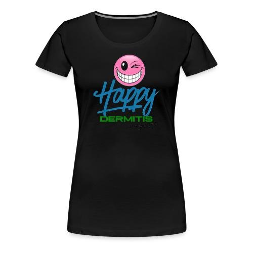 HAPPYdermitis V1.0 - Frauen Premium T-Shirt