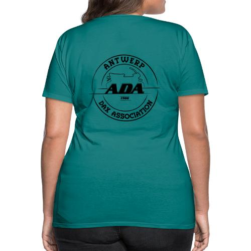 ADA DAX Logo Groot Zwart - Vrouwen Premium T-shirt