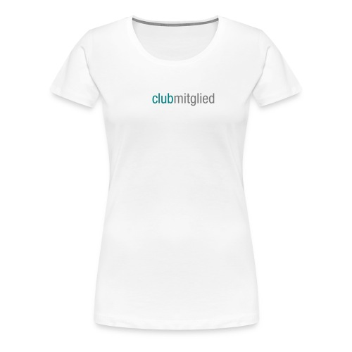 CC_clubmitglied_aufweiss - Frauen Premium T-Shirt