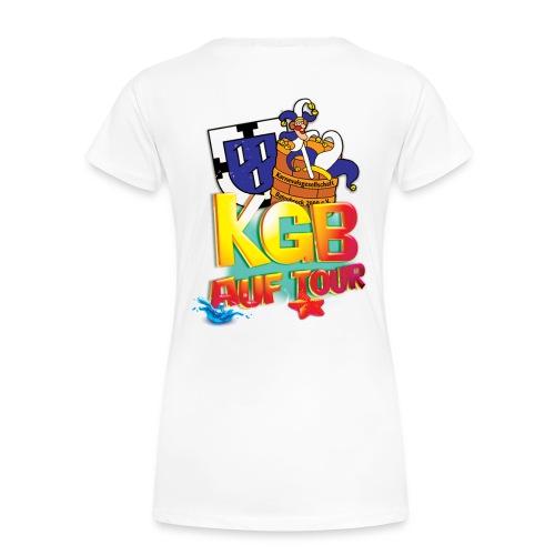 kgb auf tour 2015 test png - Frauen Premium T-Shirt