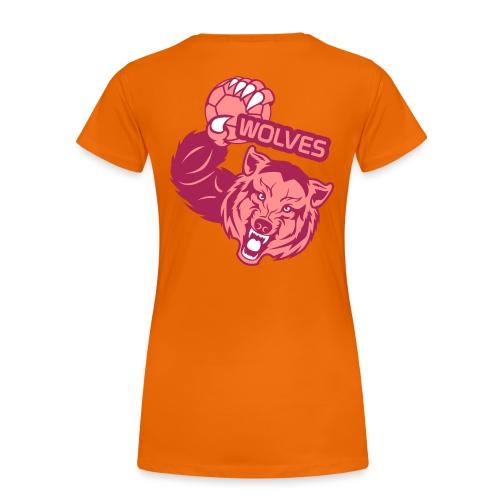 Wolves Handball - T-shirt Premium Femme