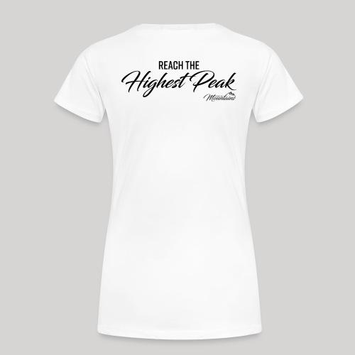 Highest peak - Frauen Premium T-Shirt