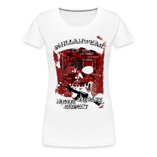 PHILLAHWEAR THE SKULL - Frauen Premium T-Shirt