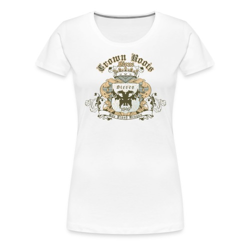 Crown Roots - Frauen Premium T-Shirt