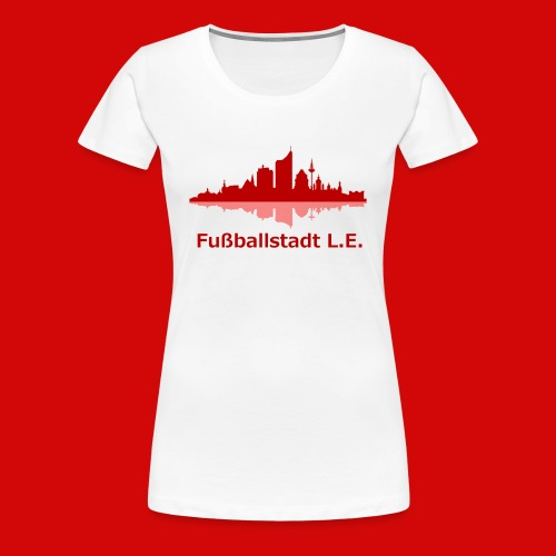 Fußballstadt L E png - Frauen Premium T-Shirt
