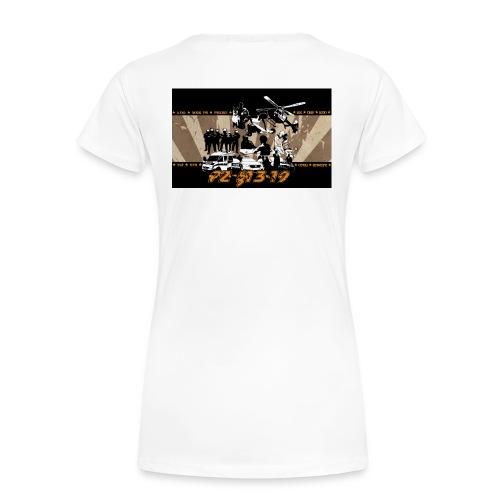 PZ-13-19-Tarantino-gelb - Frauen Premium T-Shirt