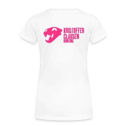 krisclausen sorthvit1 - Premium T-skjorte for kvinner