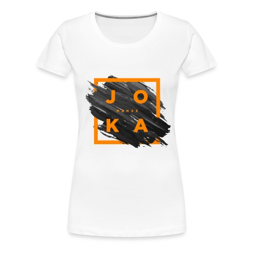 Joka_menze_paint - Frauen Premium T-Shirt