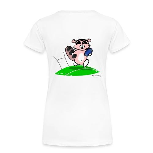Amazoon la Racoon - T-shirt Premium Femme