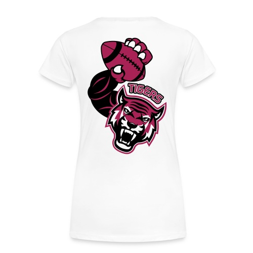 Tigers Rugby - T-shirt Premium Femme