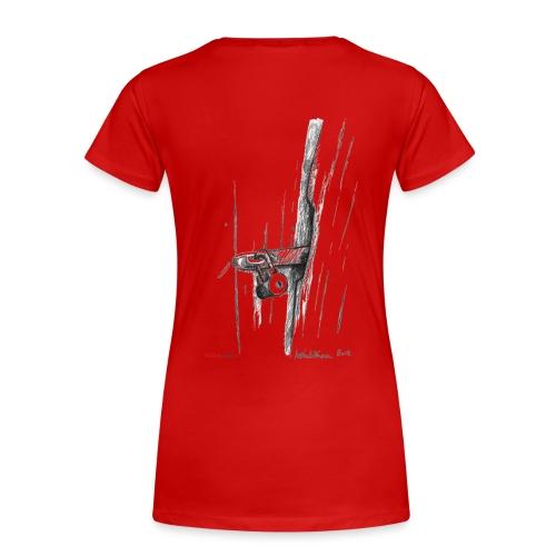 Vajan lukko / Lock of the Shack - Naisten premium t-paita