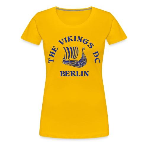 Vikings Logo - Frauen Premium T-Shirt