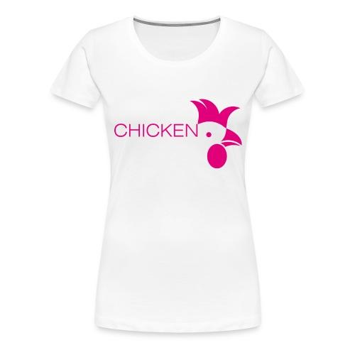 chicken - Frauen Premium T-Shirt