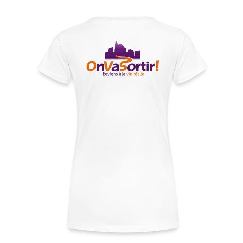 Logo OnVaSortir! - T-shirt Premium Femme