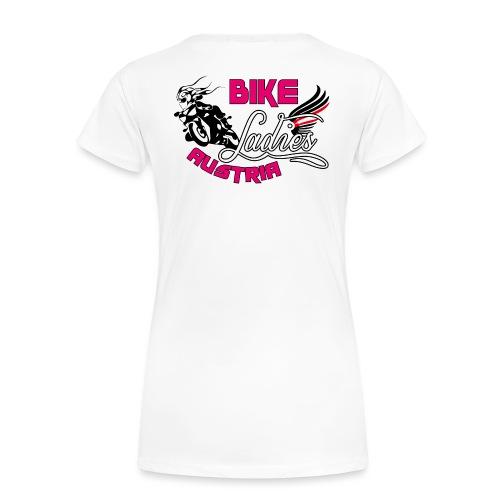 Bike Ladies Logo helle Shirts EINSEITIG - Frauen Premium T-Shirt