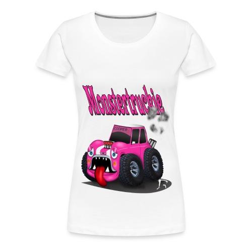 Monstertruckie - Vrouwen Premium T-shirt