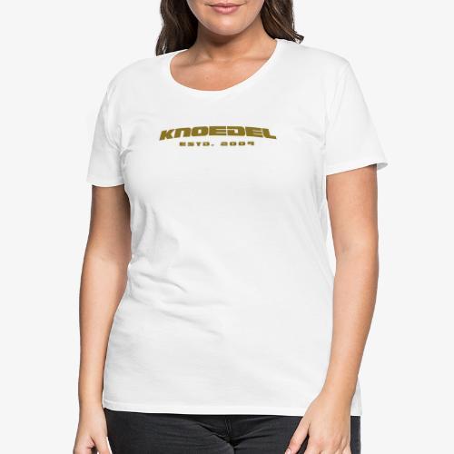 KNOEDEL - Pride - Women - Gold - Frauen Premium T-Shirt