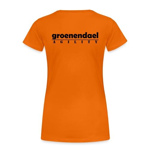 agility groe1 - T-shirt Premium Femme