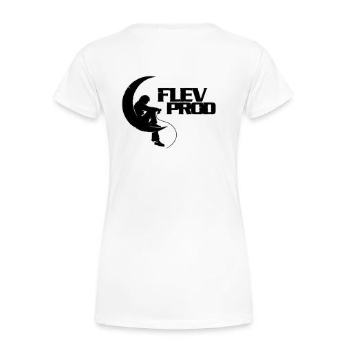 Logo Officiel Flèvprod - T-shirt Premium Femme