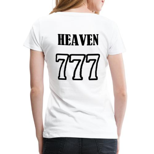 heaven - T-shirt Premium Femme