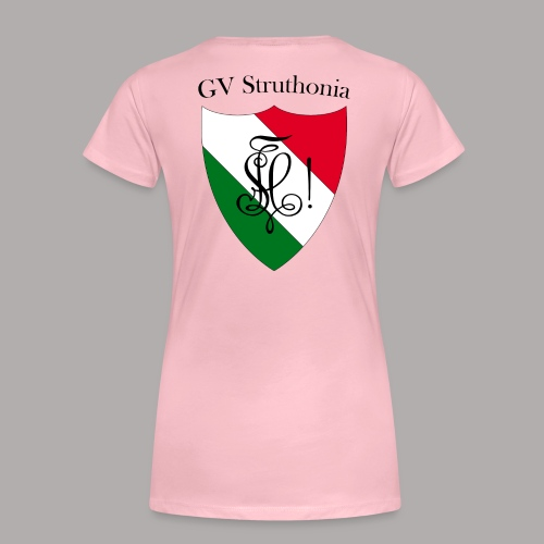 Wappen Struthonia beschriftet - Frauen Premium T-Shirt