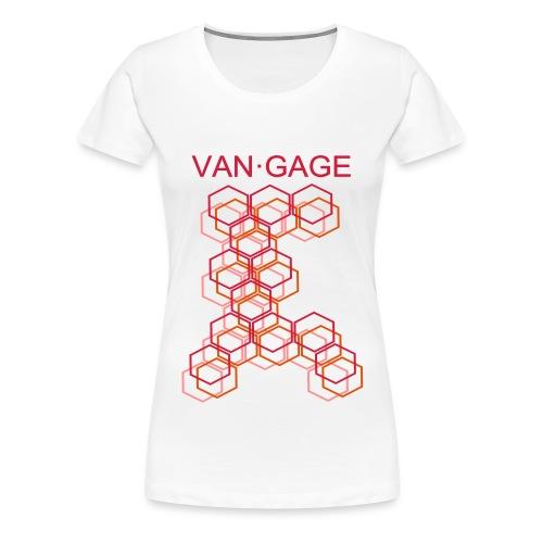 CUBESred - Frauen Premium T-Shirt