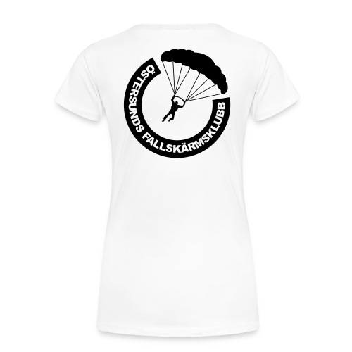 ÖFSK 2015 logo bröst - Premium-T-shirt dam