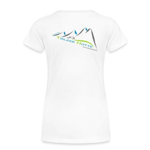 hütte sepp - Frauen Premium T-Shirt