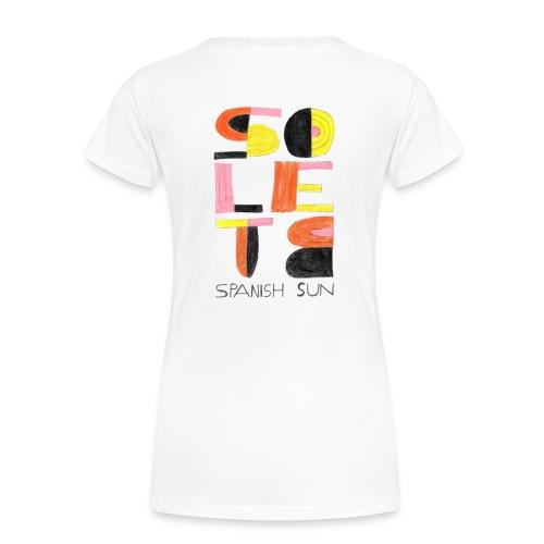solete mirò - Camiseta premium mujer