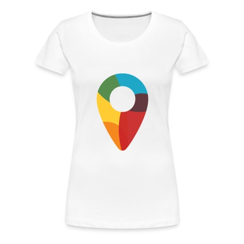 FoundedX monogram png - Women's Premium T-Shirt