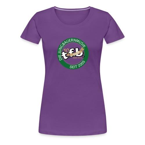 jubiläumsshirt TFB png - Frauen Premium T-Shirt