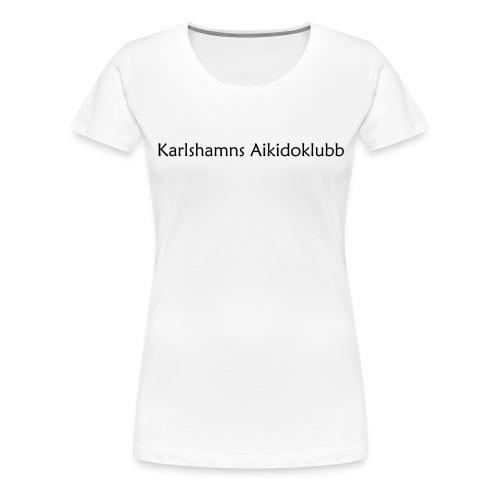 KAK - Text - Premium-T-shirt dam