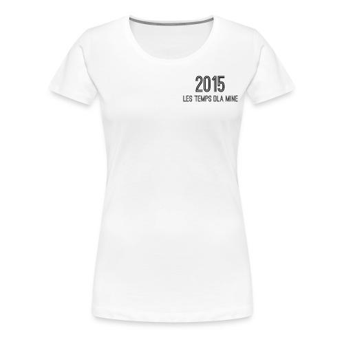 typo dos noir png - T-shirt Premium Femme