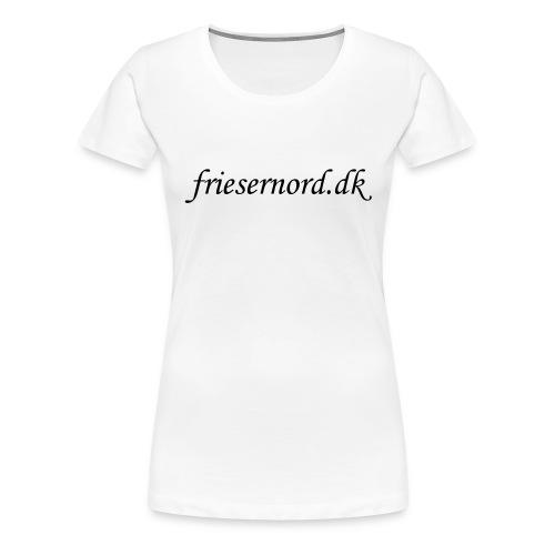 Logo på åkande - Dame premium T-shirt